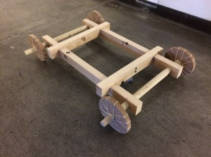 Life Size Wooden Wind Up Car Model 18