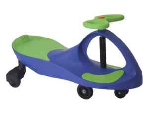 PlasmaCar Plasma Car Blue Green Ride-On Vehicle