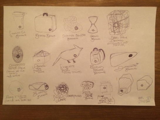 Initial Birdhouse Sketches 02